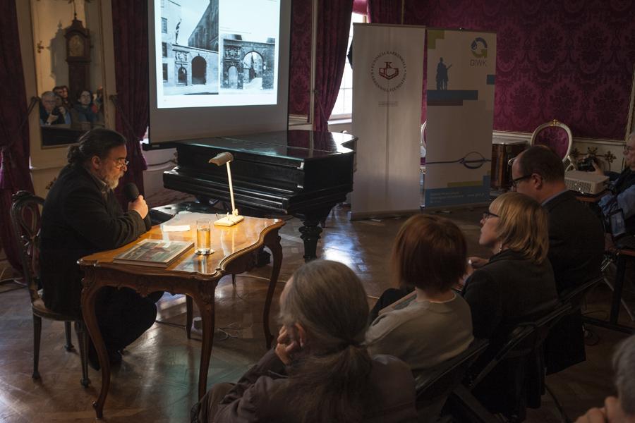 Promocja w Domu Uphagena (fot. Jerzy W. Wołodźko)