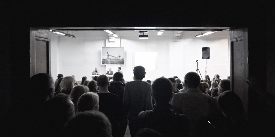 Promocja albumu w Instytucie Sztuki Wyspa w Gdańsku (fot. Jerzy W. Wołodźko)